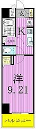 EXCEL KEIWA[4階]の間取り