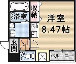 (仮)御陵鳥ノ向町アパート[201号室号室]の間取り