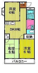 コヤマコーポ[105号室号室]の間取り