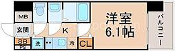 ララプレイス大阪ザ・リヴァージュ[5階]の間取り