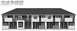 網干区新在家アパート2[203号室]の外観