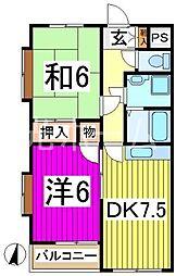 エクセル(東所沢)[1階]の間取り