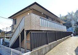 神奈川県横浜市金沢区富岡東5の賃貸アパートの外観