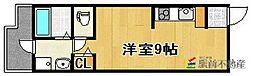 レジデンスフジ 五番館[202号室]の間取り
