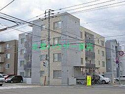 北海道札幌市東区北二十一条東12丁目の賃貸マンションの外観