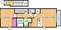 ユニゾン大平 C棟[2階]の間取り
