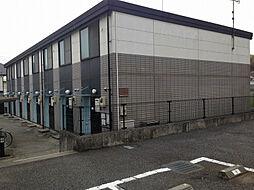 東京都八王子市元八王子町の賃貸アパートの外観