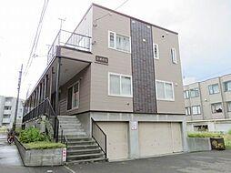 北海道札幌市豊平区豊平六条5丁目の賃貸アパートの外観