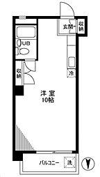 東栄コーポ[7階]の間取り