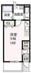 (仮称)カサート菊名[102号室号室]の間取り