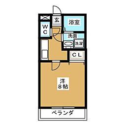 パールマンションVI[2階]の間取り