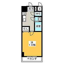 アーバンシティ幸田[4階]の間取り