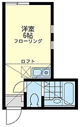 メメント・モリ 桜木町[2階]の間取り