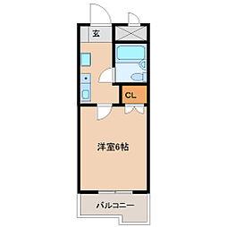 プチメゾン塚口[4階]の間取り
