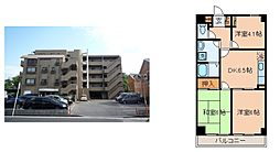 神奈川県横浜市戸塚区上矢部町の賃貸マンションの間取り