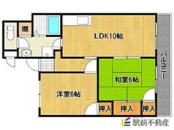 レジデンス高松[8階]の間取り