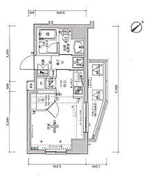スパシエ国立矢川ステーションプラザ[205号室]の間取り