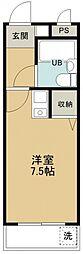 煉瓦館6[103号室号室]の間取り