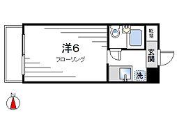 ドース北新宿[302号室]の間取り