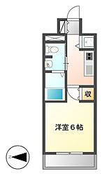 プレサンス鶴舞グリーンパーク[12階]の間取り