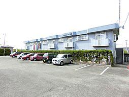福岡県久留米市津福今町の賃貸アパートの外観