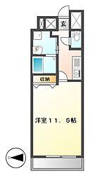 CASSIA錦本町通(旧スタジオスクエア錦)[7階]の間取り