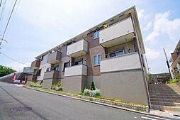 阪急千里線 北千里駅 バス9分 新家下車 徒歩5分の賃貸アパート