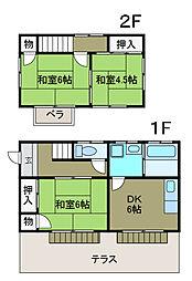 [一戸建] 神奈川県相模原市南区上鶴間7丁目 の賃貸【/】の間取り