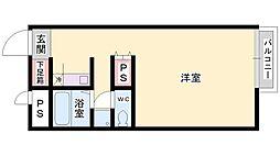 FUJIWARA[205号室]の間取り