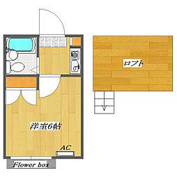 Plaza A 〜Kemigawa〜[2階]の間取り