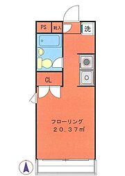 TABE RESIDENCE[2階]の間取り
