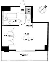 セイコーガーデン朝霞[7階]の間取り