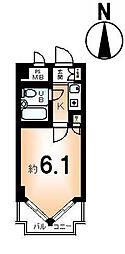 ライオンズマンション京都三条第2[8階]の間取り