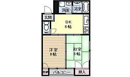 モアイマンション[201号室号室]の間取り