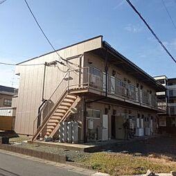 静岡県浜松市東区植松町の賃貸アパートの外観