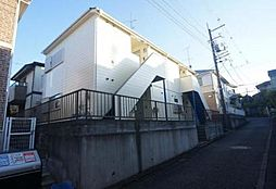 神奈川県川崎市多摩区栗谷1丁目の賃貸アパートの外観