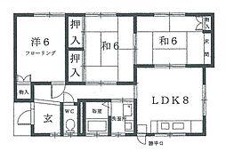 [一戸建] 大阪府吹田市寿町2丁目 の賃貸【/】の間取り