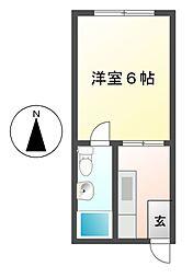 G1ビル大曽根[1階]の間取り
