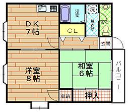 ロフト5ビル[3階]の間取り