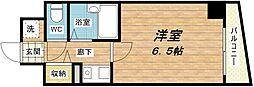 大国町青山ビル別館[8階]の間取り