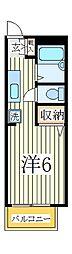 アゼリアハウス[2階]の間取り