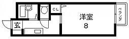 サンビレッジ・デグチII[B203号室号室]の間取り