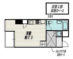 是空HORIKAWA[7階]の間取り