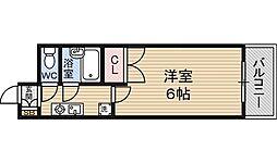 ローズコーポ新大阪8[6階]の間取り