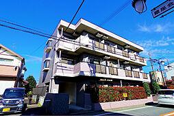 東京都清瀬市松山2丁目の賃貸マンションの外観