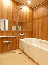 スライドバーでのシャワー位置調節、ワイドミラー、追い焚き等の機能で快適なバスタイムを過ごせます