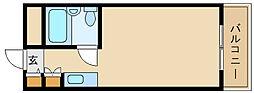 アートンヒュース[2階]の間取り