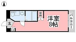 カローラ清水町[3階]の間取り