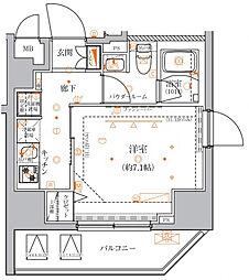 クレイシア入谷竜泉〜CRACIA IRIYA RYUSEN〜[10階]の間取り
