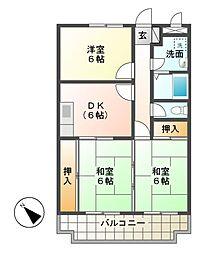 ファーストメゾン[3階]の間取り